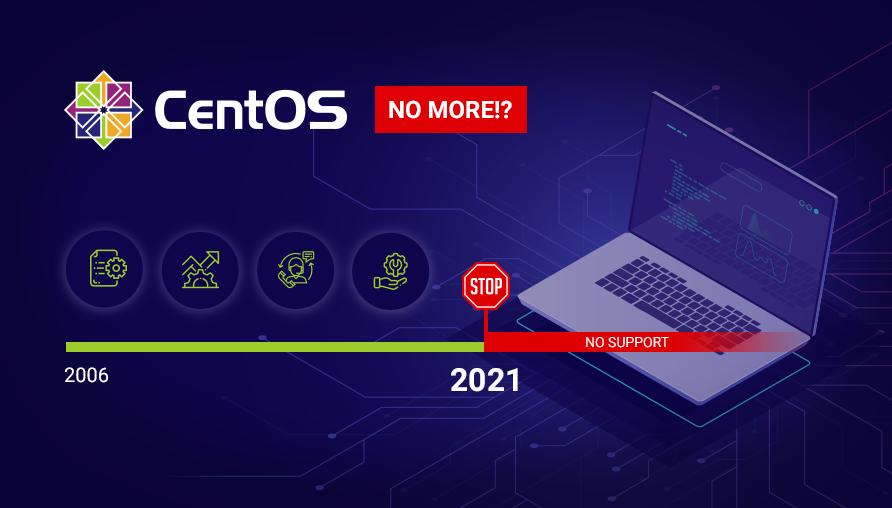 I'm Sad: The End of the CentOS Era Support 1